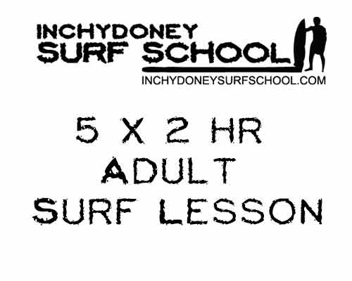 Image for Adult 5 x 2hr Group Surf Lesson