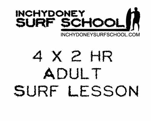 Image for Adult 4 x 2 hr Group Surf Lessons